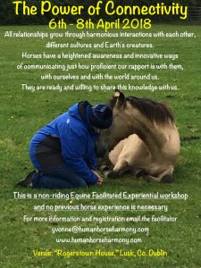 April workshop on authentic relationships